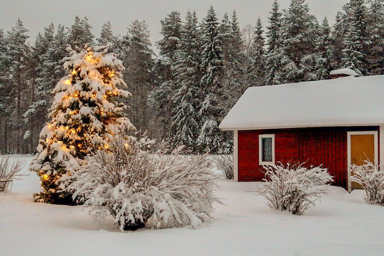 vánoce ve finsku