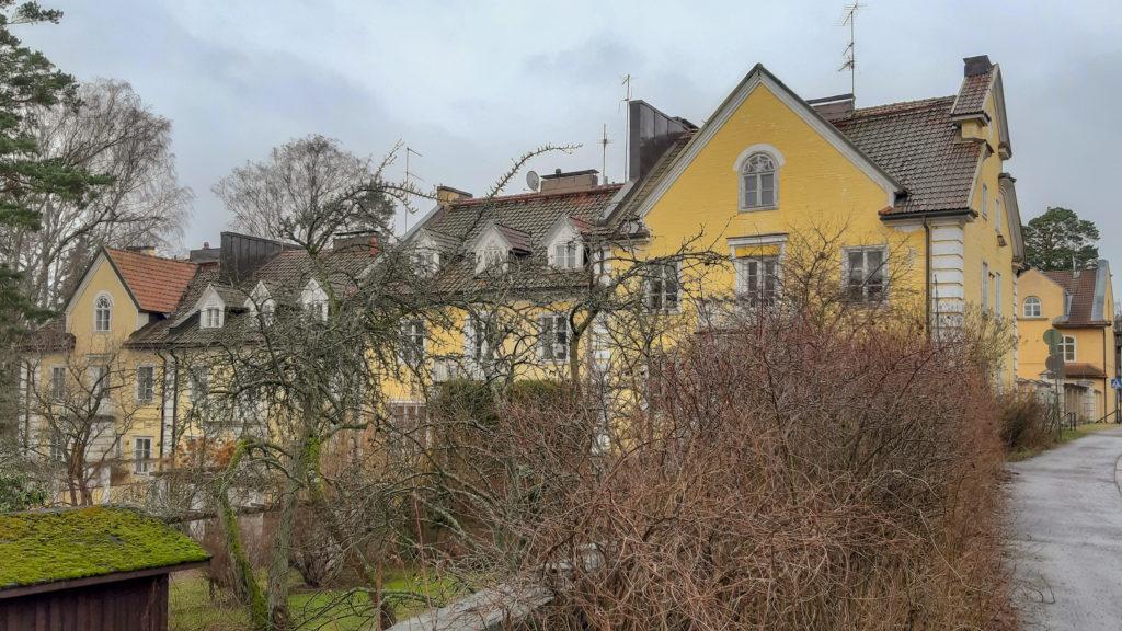 Nejstarší řadový dům ve Finsku