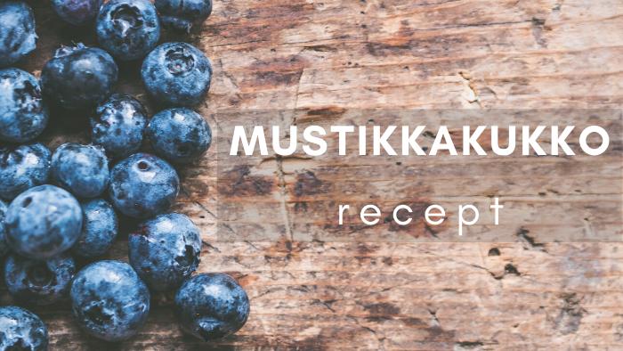 MUSTIKKAKUKKO finský žitný koláč