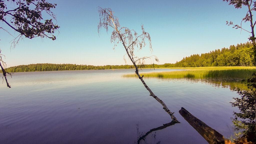 Bodomské jezero v Espoo