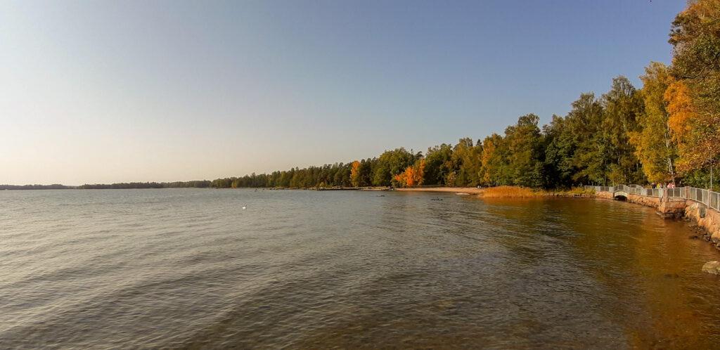 pobřeží v Espoo